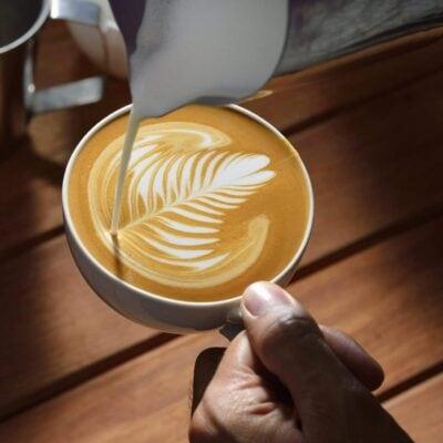 Herz Gießen Latte Art